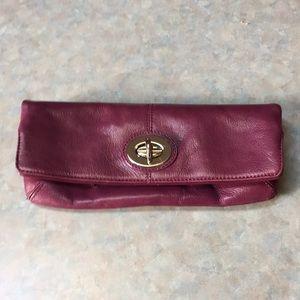 Danier Leather clutch purse